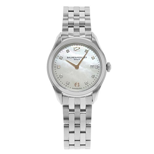 Baume & Mercier Clifton Stainless Steel Quartz Ladies Watch
