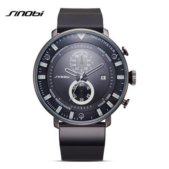 SINOBI Star Wars Ultra Thin Chronograph Mens Wrist Watches