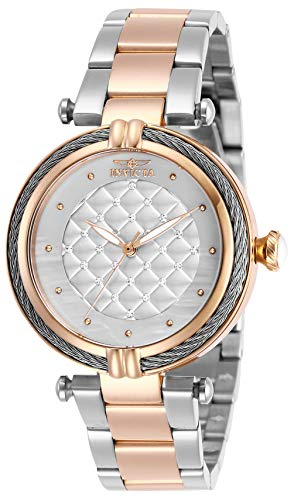Invicta Women's Bolt Quartz Stainless-Steel Strap, Two Tone, 18 Casual Watch