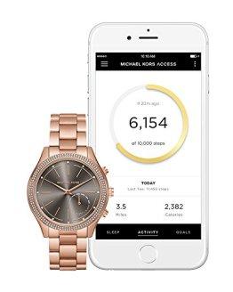 Michael Kors Access Hybrid Rose Gold Slim Runway Smartwatch