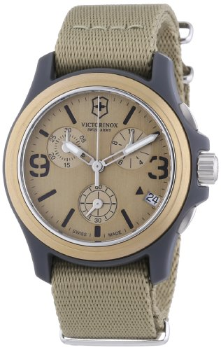 Victorinox Swiss Army Unisex Original Chronograph Beige Watch