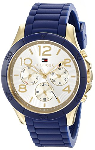 Tommy Hilfiger Women's Sophisticated Sport Analog Display Quartz Blue Watch