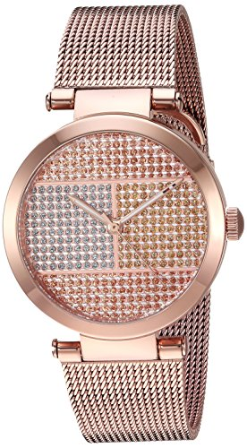 Tommy Hilfiger Women's Analog Display Quartz Rose Gold Watch