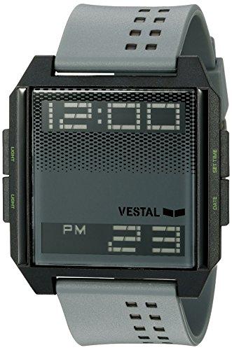 Vestal Unisex Digichord Digital Display Quartz Grey Watch