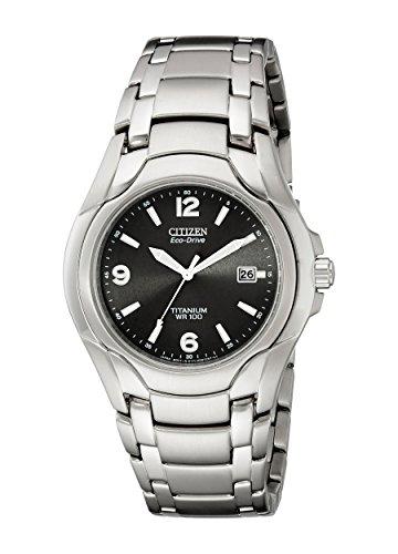Citizen Men's Eco-Drive Titanium Watch with Date