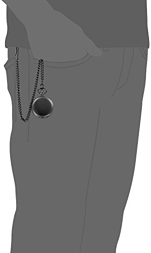 Jechin Classic Black Big Face Pocket Watch Comes in a Silk-Lined Gift Box Jechin Classic Black Big Face Pocket Watch Comes in a Silk-Lined Gift Box