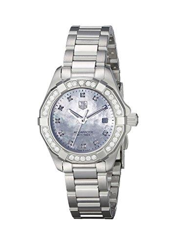 TAG Heuer Women's Analog Display Quartz Silver Watch