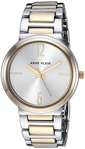 Anne Klein Women's AK/3169SVTT Two-Tone Bracelet Watch