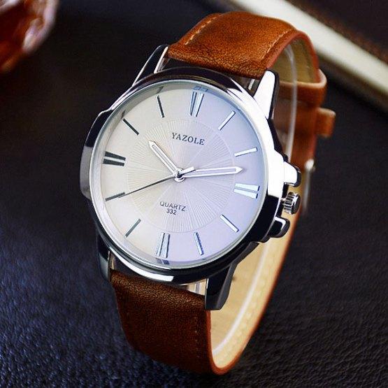 YAZOLE 2019 Fashion Quartz Watch Men Watches