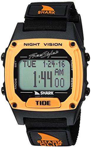 Freestyle Shark Clip Tide Black/Orange Unisex Watch
