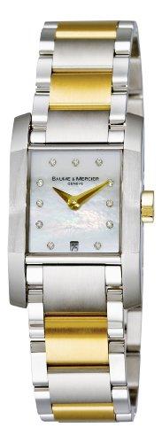 Baume & Mercier Women's Diamant Two Tone Watch