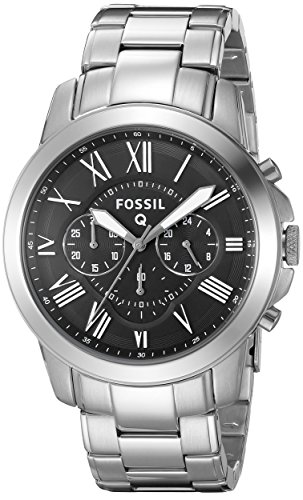Fossil Q Grant Hybrid Stainless Steel Smartwatch