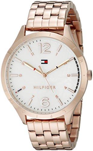 Tommy Hilfiger Women's Casual Sport Analog Display Quartz Rose Gold Watch