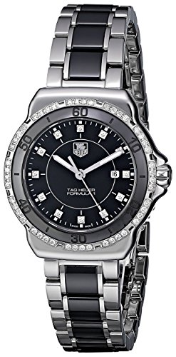 """TAG Heuer Women's """"Formula 1"""" Stainless Steel Two-Tone Watch with Diamonds"""