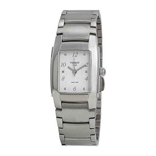 Tissot Women's T10 Analog Display Swiss Quartz Silver Watch