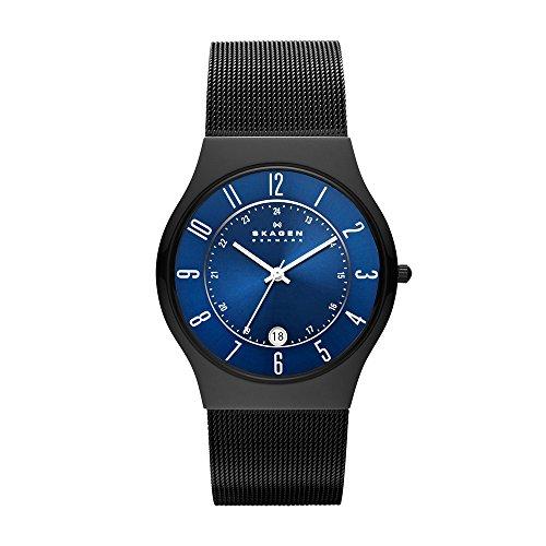 Skagen Men's Sundby Quartz Titanium and Stainless Steel Watch