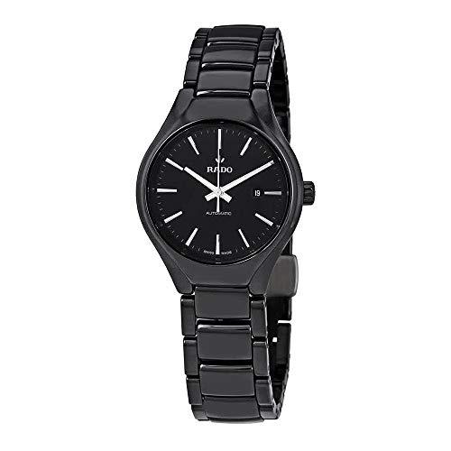 Rado True Black Dial Automatic Ladies Watch R27242152