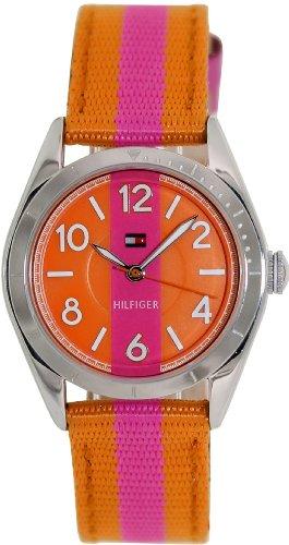 Tommy Hilfiger Classic Pink & Orange Strap Women's watch