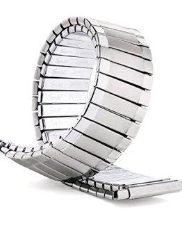 Speidel Men's Twist-O-Flex Stainless Steel Stretch Metal Replacement Watch Band