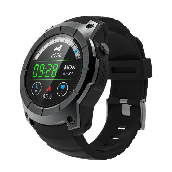 2018 OGEDA GPS Smart Men Watch Sport Heart Rate Barometer Monitor