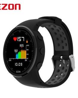 EZON T958 HD Color Screen Optical Heart Rate GPS Smartwatch