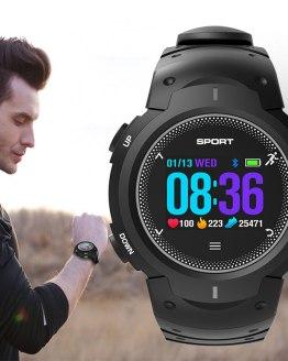 Fitness Bluetooth Smart Watch Men Heart Rate Monitor