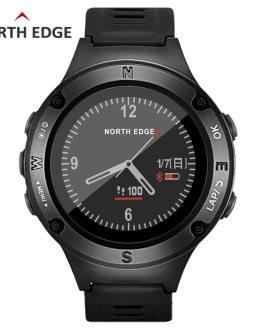 NORTH EDGE Men's Sports GPS watch men Digital watches smartwatch