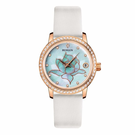 BINLUN Season Series Diamond Case Automatic Women's Watch
