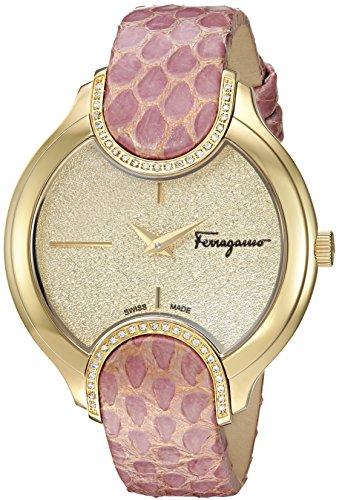 Salvatore Ferragamo Women's Signature Analog Display Quartz Pink Watch
