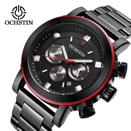 OCHSTIN Mens Business Watches Top Brand Luxury Waterproof Watch