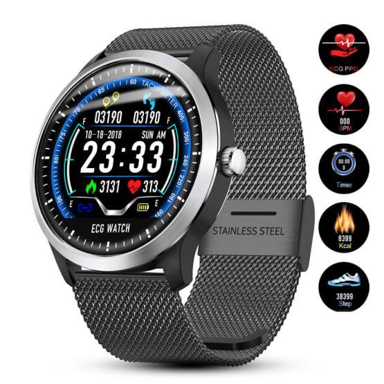 PPG ECG Smart watch Men Electrocardiograph Waterproof Smart Bracelet