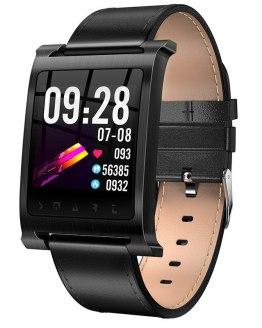 Men's Smart Watch K6 Fashion Leather Band IP68 Waterproof Bluetooth