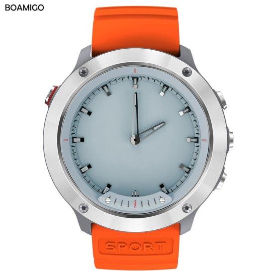 Smart Watch Men Sports Smart Wristwatches BOAMIGO Bluetooth
