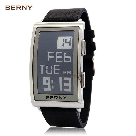 BERNY Role Luxury Watch Men Electronic