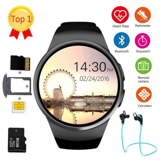 Men Women Smart Watch KW18 Bluetooth Sleep Tracker Smartwatch