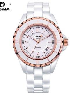 CASIMA Hot Sell Women Bracelet Watch Luxury Ceramic Ladies Quartz