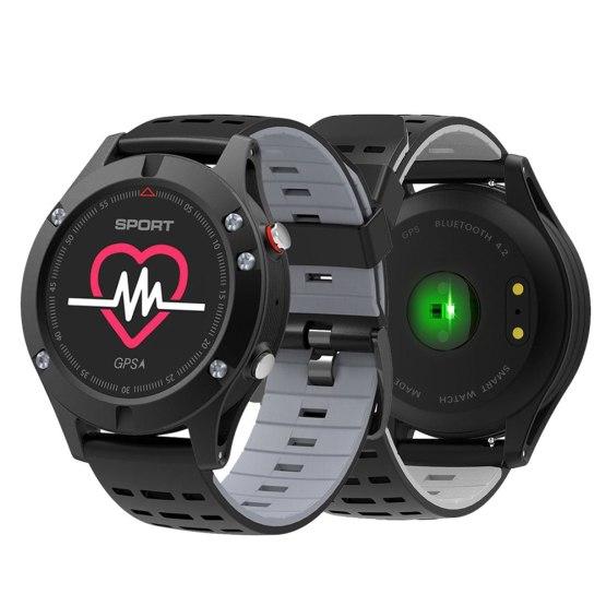 OGEDA Men F5 GPS Smart Watch Altimeter Barometer Thermometer