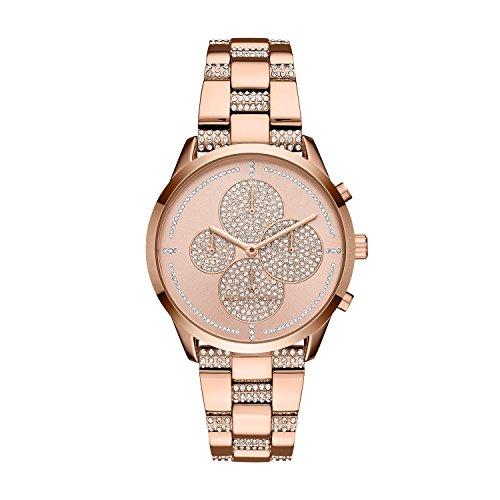 Michael Kors Women's Slater Analog-Quartz Watch with Stainless-Steel Strap