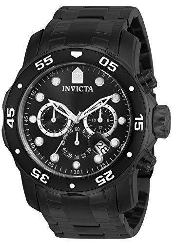 Invicta Men's Pro Diver Collection Chronograph Black Watch