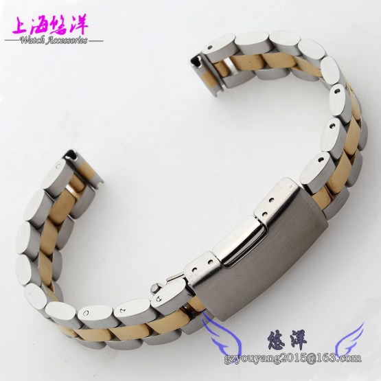 "10mm 12mm 14mm 16mm New Men Ladies Silver Gold Stainless Steel Watch Please select ""the Shade Width"",and go away a message to us,so we are able to ship it ASAP,thanks very a lot!"