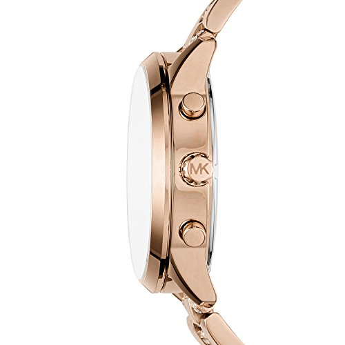 Michael Kors Women's Slater Analog-Quartz Watch with Stainless-Steel Strap Michael Kors Women's Slater Analog-Quartz Watch with Stainless-Steel Strap, Rose Gold, 20 (Model: MK6553