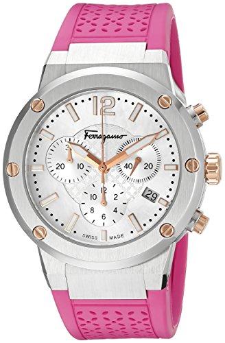 Salvatore Ferragamo Women's F Chrono Analog Display Quartz Pink Watch