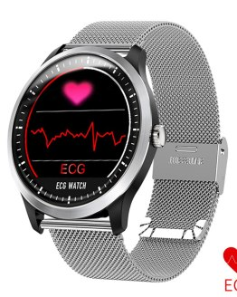 N58 ECG Measurement PPG Smart Watch Men Heart Rate Monitor