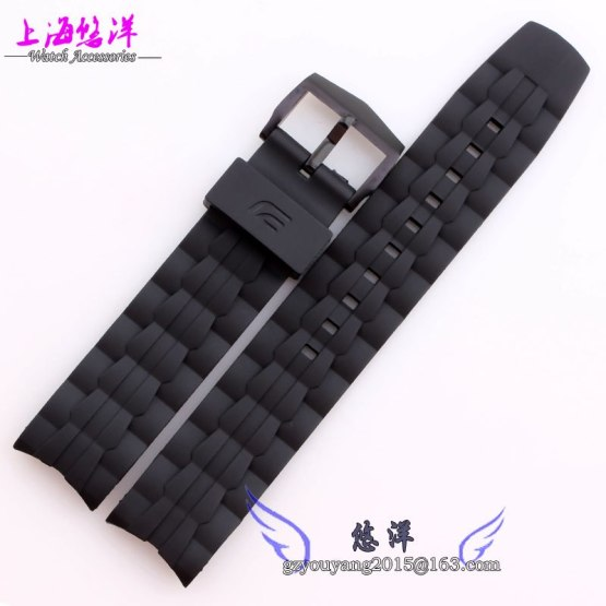 Replacement 22mm New Mens Watch Band Waterproof Rubber