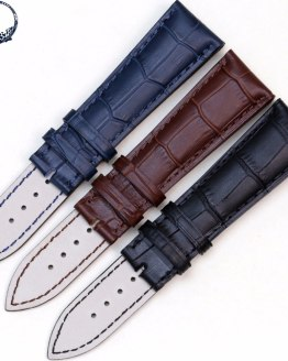 Pesno Watchbands 20mm 22mm New Top Grade Genuine Leather Watch Band