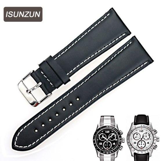 ISUNZUN Men's Watch Bands For Tissot 1853 T039 V8 Watch Straps 22 mm