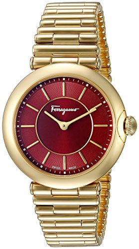 Salvatore Ferragamo Women's Style Analog Display Quartz Gold Watch