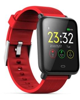 Outdoor Smart Watch Blood Pressure Heart Rate Monitor Waterproof Smartwatch