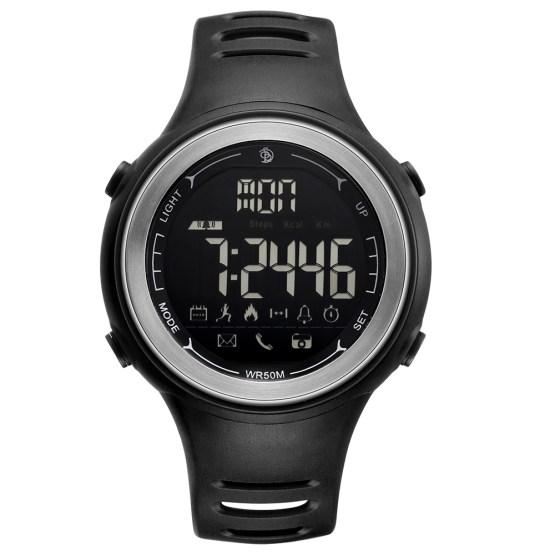 SENORS Bluetooth Smart Watch Men Outdoor Sport Pedometer Digital