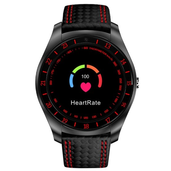 V10 Smart Watch Men with Camera Bluetooth Pedometer Heart Rate Monitor